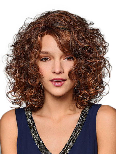 Paulina Wig By Henry Margu Is A Mid Length Style With Abundant